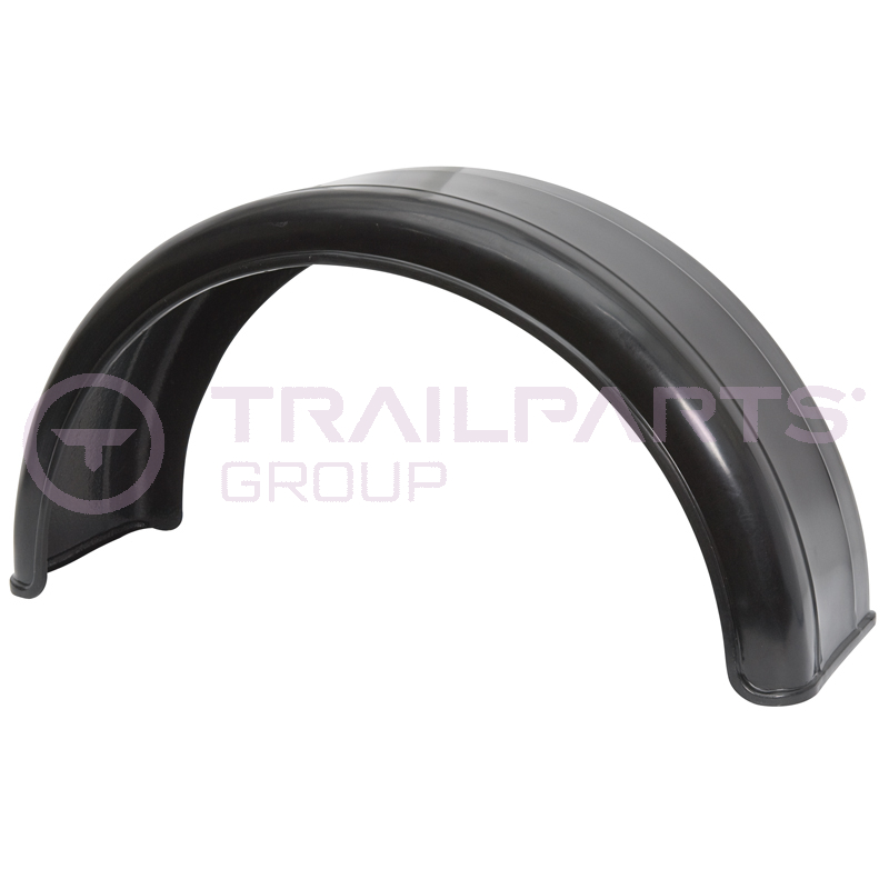 Single Axle Plastic Mudguards