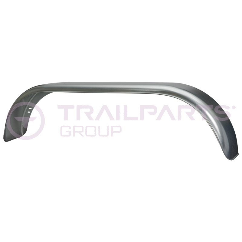 Twin Axle Galvanised Mudguards