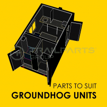 Parts to suit Genquip groundhog Units