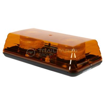 Lightbars - Blaze amber mini LED lightbar 12/24V single bolt