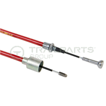 AL-KO quick release long life brake cable 530/726mm