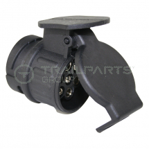 Socket adaptor 13 pin socket to 7 pin trailer plug