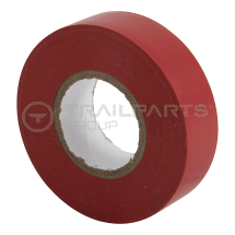 Electrical insulation tape red 19mm x 20m