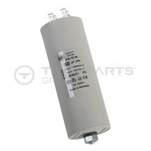 Capacitor 16uF 450V with spade terminals