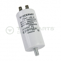 Capacitor 20uF 250V with spade terminals
