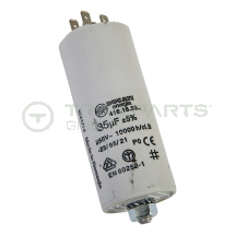 Capacitor 14uF 450V with spade terminals