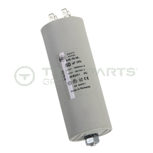 Capacitor 50uF 400/450V with spade terminals