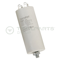 Capacitor 25uF 250V with spade terminals