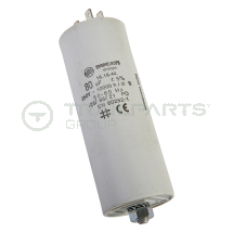 Capacitor 80uF 250V with spade terminals