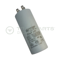 Capacitor 20uF 425-475V with spade terminals