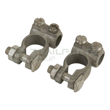 Battery terminals positive and negative pair - max 25mm cabl