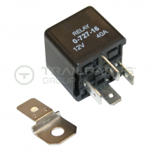 Self switching relay 12V 40A 4 pin (30,86,85,87) NO