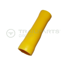 Bullet female receptacle yellow 5mm (x 100)