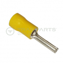 Pin connectors yellow 2.9mm (x 100)