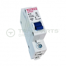 230/415V MCB type B 16A single pole