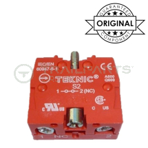 Techna emergency stop contact block NC