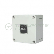 12V Touch timer switch IP66 rated - inc pattress box