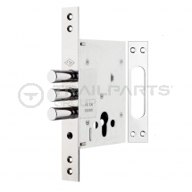 Door lock cassette 3 bolt type for AJC cabin