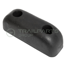 Rubber buffer 2 hole
