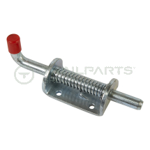 Spring bolt 75 x 40mm bracket 12mm bolt