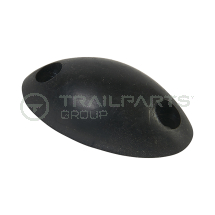 Rubber buffer oval 68 x 34 x 20mm