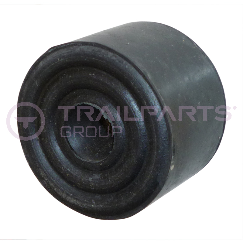 Rubber buffer round 32 x 22mm
