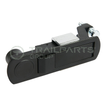Flush latch for generator case non-locking - 100x25 cutout