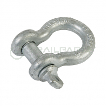Bow shackle screw pin type SWL 3250kg certified