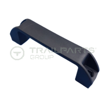 Plastic pull handle 122mm fixing centres