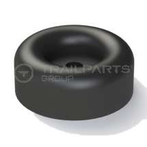 Rubber buffer round 64 x 25mm