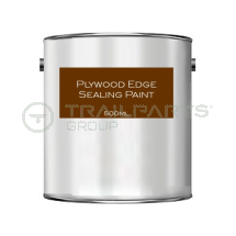 Exterior acrylic flooring edge sealing paint dark brown 500ml