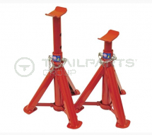 Folding axle stand pair 4000kg (2000kg each) 275-365mm
