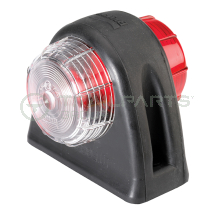 Britax side marker lamp red/white