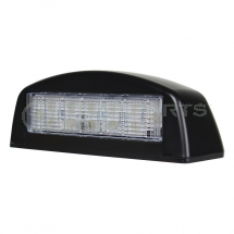 Number plate lamp 12/24V LED