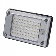 Interior LED switched lamp 12/24V rectangular 200 x 130mm
