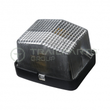 White front marker lamp