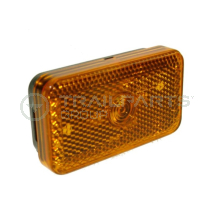Side marker lamp amber 80 x 45 x 25mm
