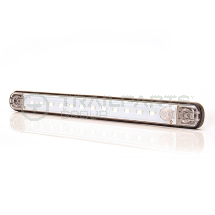 Interior strip lamp 12V 12 LED integral PIR 235 x 20 x 14mm