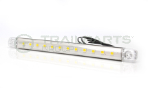 Interior strip lamp 12V 12 LED unswitched 235 x 20 x 14mm