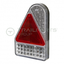 Rear combination lamp 10-30V LED 6-function vertical left