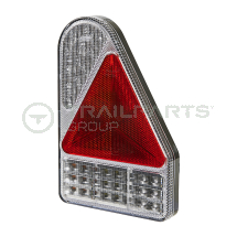 Rear combination lamp 10-30V LED 6-function vertical right