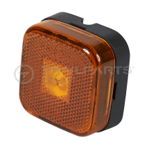 Rubbolite side marker lamp 24V LED amber