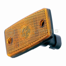 Side marker lamp 12/24V amber c/w superseal connector