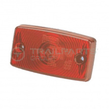 Rear marker lamp 12/24V red c/w superseal connector
