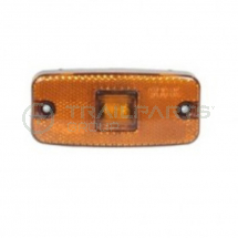 Side marker lamp 12/24V LED amber c/w reflector