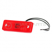 Rear marker lamp LED 10-30V rectangle 98mm x 32mm