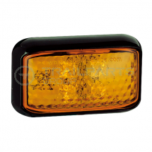 LED side marker lamp 12/24V 58 x 35 x 19mm