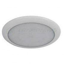 Interior roof lamp 12/24V LED white 197mm diameter