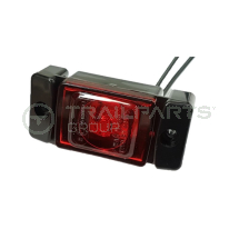 LED Rear Marker Lamp for Securi-Cabin 10-30V Red