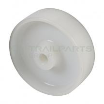 Replacement wheel white nylon 160mm diameter